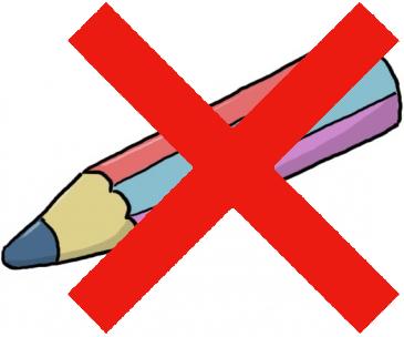 Pas de crayon